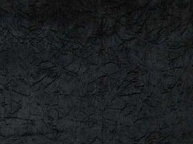 Crushed Velvet Black