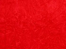 Crushed Velvet Red